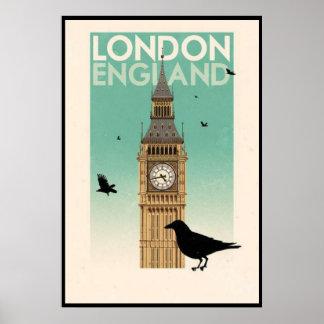 Reino Unido. Inglaterra, Londres Póster