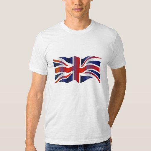 Reino Unido ondulado Poleras