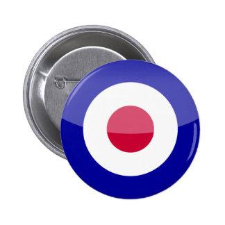Reino Unido Pin Redondo 5 Cm