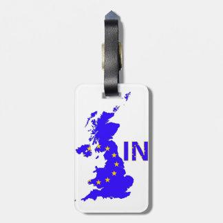 Reino Unido - Referéndum 2016 de la pertenencia a Etiqueta De Equipaje