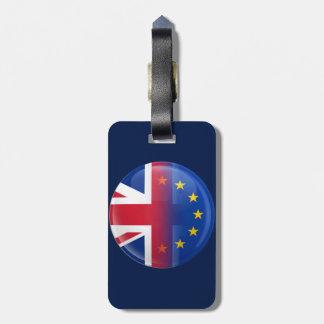 Reino Unido - Referéndum 2016 de la pertenencia a Etiquetas Para Equipaje