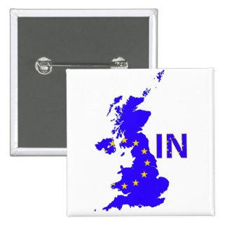 Reino Unido - Referéndum 2016 de la pertenencia a Pin Cuadrado
