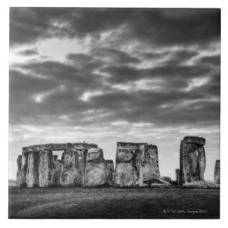 Reino Unido, Stonehenge 11 Azulejo Cuadrado Grande