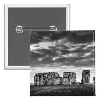 Reino Unido, Stonehenge 11 Pin Cuadrada 5 Cm