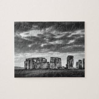 Reino Unido, Stonehenge 11 Rompecabezas Con Fotos