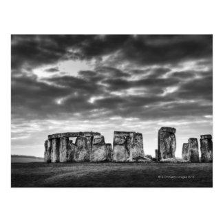 Reino Unido, Stonehenge 11 Tarjeta Postal