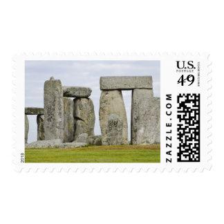 Reino Unido, Stonehenge 12 Estampilla