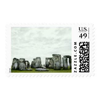 Reino Unido, Stonehenge 14 Sellos Postales