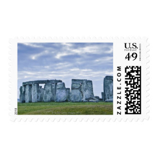 Reino Unido, Stonehenge 3 Timbres Postales