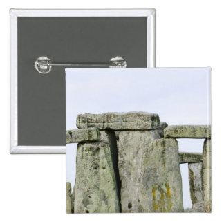 Reino Unido, Stonehenge 4 Pin Cuadrada 5 Cm