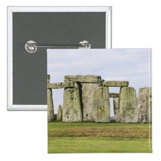 Reino Unido, Stonehenge 6 Pin Cuadrada 5 Cm