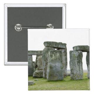 Reino Unido, Stonehenge 9 Pin Cuadrada 5 Cm