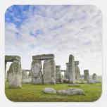 Reino Unido, Stonehenge Calcomanías Cuadradas Personalizadas