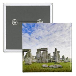 Reino Unido, Stonehenge Pin Cuadrada 5 Cm