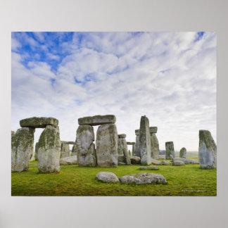 Reino Unido, Stonehenge Póster