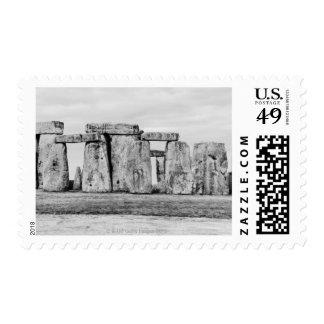 Reino Unido, Stonehenge Sello Postal