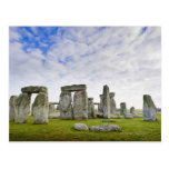 Reino Unido, Stonehenge Tarjeta Postal