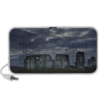 Reino Unido, Stonehenge, visión escénica en el ama Portátil Altavoz