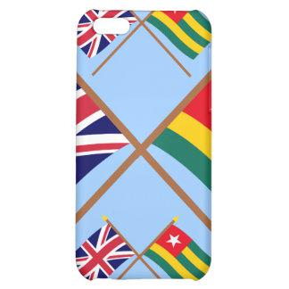 Reino Unido y banderas cruzadas Togo