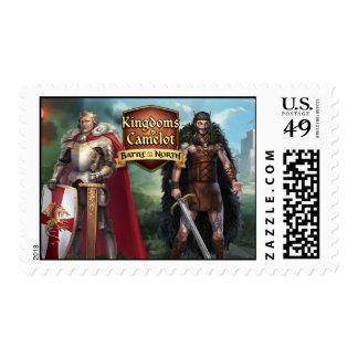 Reinos de la batalla de Camelot del norte Estampilla