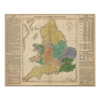Reinos de los anglosajones póster