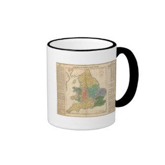 Reinos de los anglosajones taza
