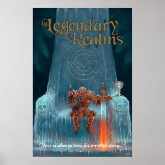 Reinos legendarios - más allá de la espina dorsal  póster