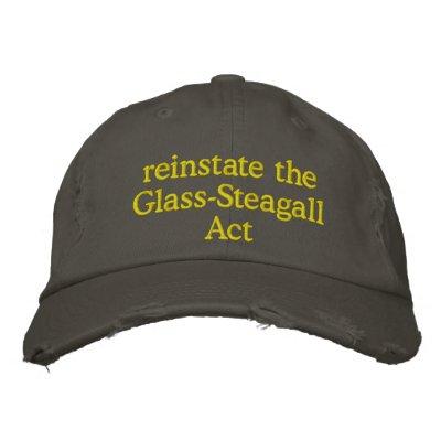 reinstate the Glass-SteagallAct Cap