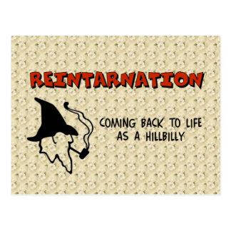 Reintarnation Postcard