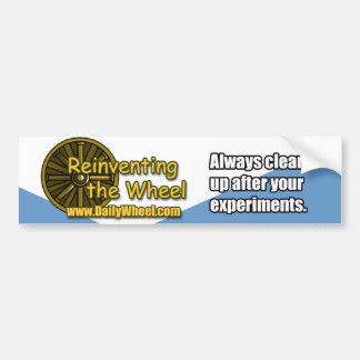 Reinvención de la pegatina para el parachoques de pegatina de parachoque