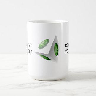 Reinvent Yourself 3D Design Coffee Mug