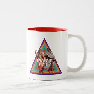 Reinventing Realities Two-Tone Coffee Mug