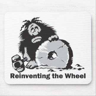 Reinventing the Wheel Mouse Pad