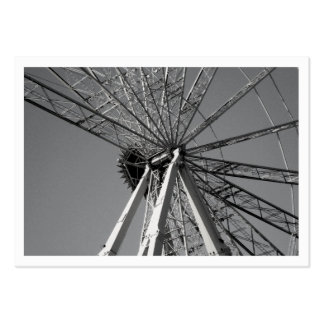 Reinvention of the Wheel Mini Photo Large Business Card