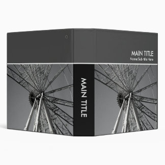 Reinvention of the Wheel Photo Book - (1.5in Ring) 3 Ring Binder