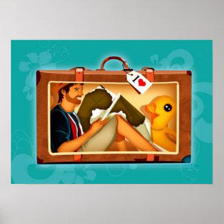Reisegepäck Plakatdrucke