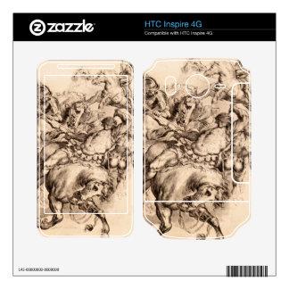 Reiter battle by Paul Rubens HTC Inspire 4G Decal