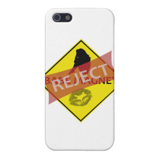 Reject Babe Magnet Road Sign iPhone Case