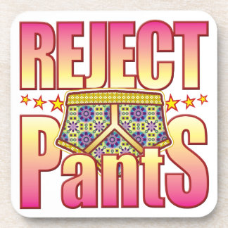 Reject Flowery Pants Coasters