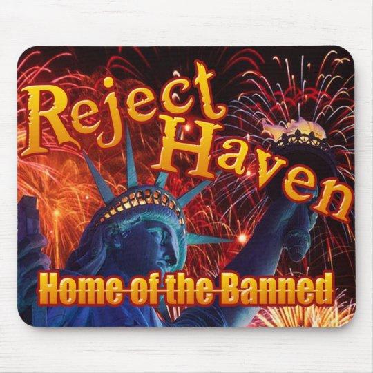 Reject Haven logo mousepad