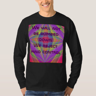 reject mind control mens shirt