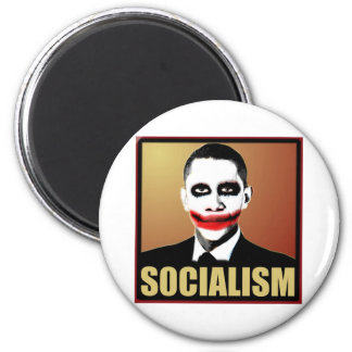Reject Socialism 2 Inch Round Magnet