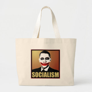Reject Socialism Tote Bags