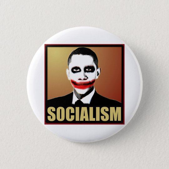 Reject Socialism Button