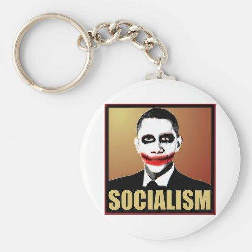 Reject Socialism Keychain