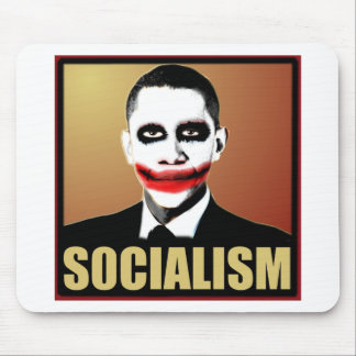 Reject Socialism Mouse Pad