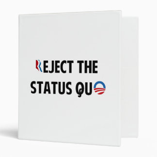 Reject the Status Quo Binder
