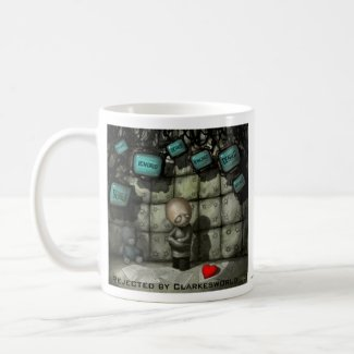 Rejected by Clarkesworld mug