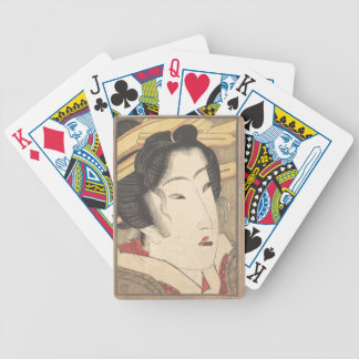 Rejected Geisha from Passions Cooled by Springtime Bicycle Playing Cards