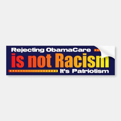 Rejecting ObamaCare Car Bumper Sticker